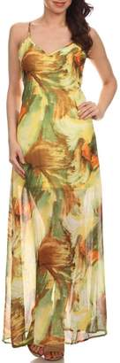 Fashion Line Tropical Print Maxi