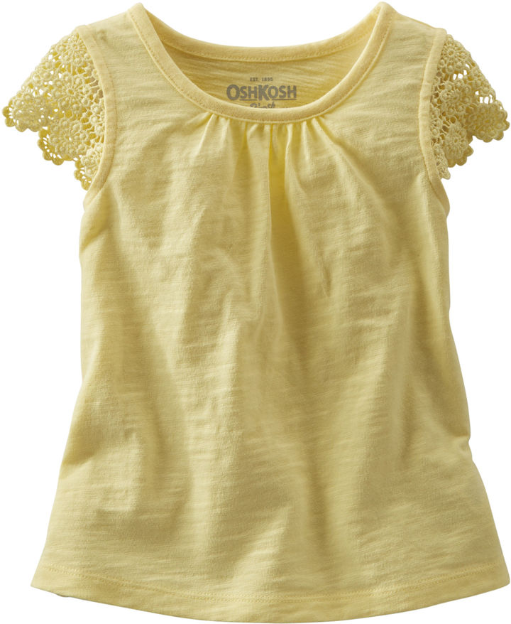 Osh Kosh Flutter Sleeve Top