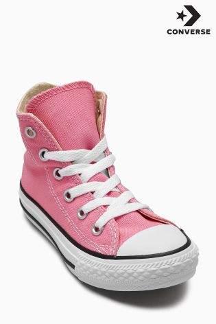 Boys Converse Chuck Taylor All Star Hi - Pink