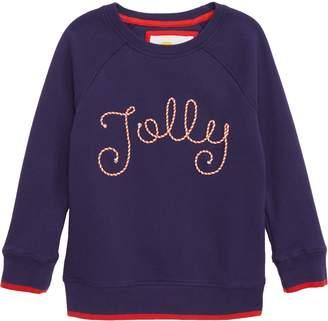 Boden Mini Festive Fun Sweatshirt