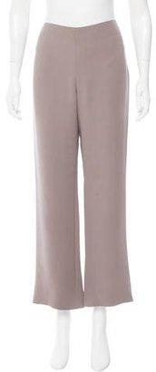 Giorgio Armani Wide-Leg Mid-Rise Pants $80 thestylecure.com