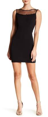 Jump Sleeveless Mesh Detail Dress