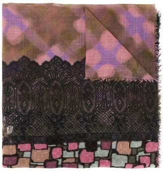 Pierre Louis Mascia Pierre-Louis Mascia abstract print scarf