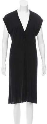 Rick Owens Lilies Sleeveless Midi Dress