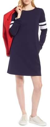 1901 Varsity Knit Shift Dress