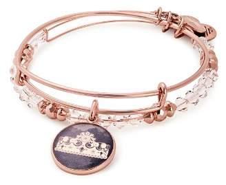 Alex and Ani Queen's Crown Expandable Bracelets