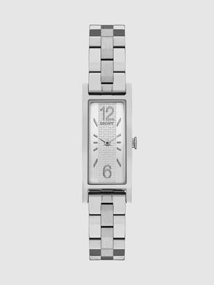 DKNY Pelham Three Hand Stainless Steel Watch - Silver-Tone