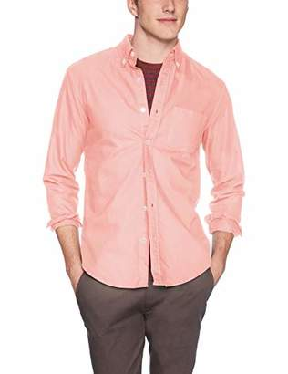 J.Crew Mercantile Men's Slim-Fit Long-Sleeve Solid Oxford Shirt