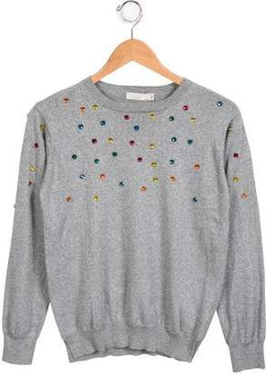 Stella McCartney Girls' Embellished Knit Sweater
