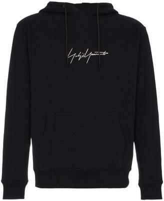 Yohji Yamamoto New Era Signature Logo Hoodie