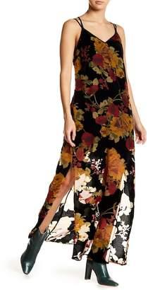 Band of Gypsies Vintage Floral Burnout Maxi Dress