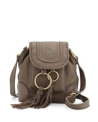 See by Chloe Polly Leather Flap Bucket Bag, Taupe $460 thestylecure.com