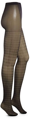 Dim Sheer Houndstooth Tights