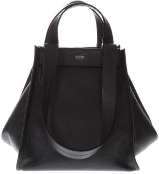 Max Mara Sophie Black Leather Bag