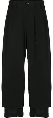 Yohji Yamamoto double layer trousers