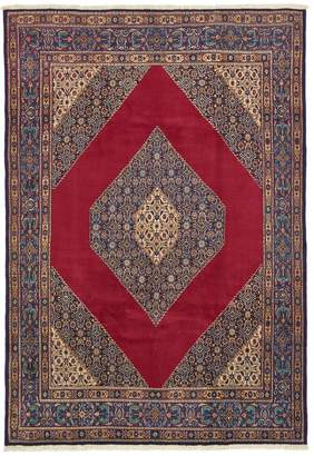 Unique Loom Mood Hand-Knotted Wool Persian Rug