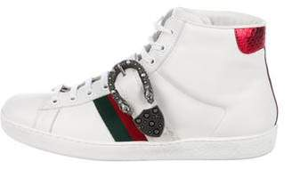Gucci New Ace High-Top Sneakers