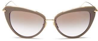 Dita Women's Heartbreaker Cat Eye Sunglasses, 56mm
