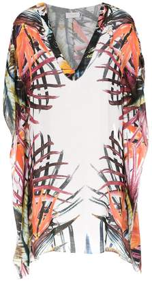 BRIGITTE printed beach dress