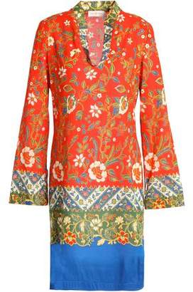 Tory Burch Floral-Print Cotton Tunic