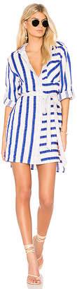 Milly Stripe Shirt Dress