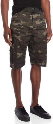 ProjekRaw Projek Raw Camouflage Belted Shorts