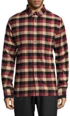 Public School Leto Plaid Casual Button-Down Shirt