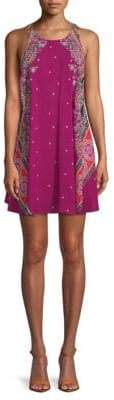Free People Darjeeling Printed Cotton Shift Dress