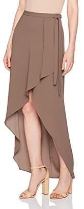BCBGMAXAZRIA Women's Roxy Woven Asymmetrical Skirt