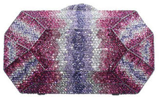 Shay Accessories Multi-Colored Crystallized Clutch