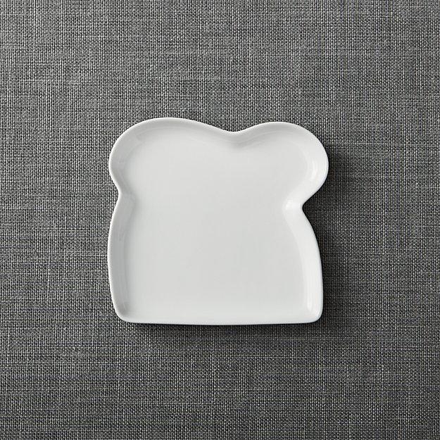 "Crate & Barrel Sandwich 6.75"" Plate"