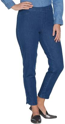 Isaac Mizrahi Live! Regular 24/7 Denim Pull-On Ankle Jeans