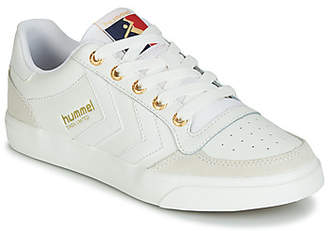 Hummel SLIMMER STADIL LIMITED LOW women's Shoes (Trainers) in White