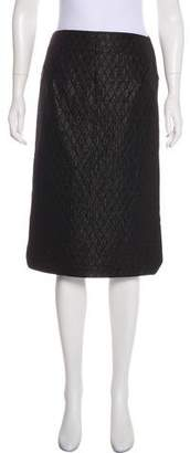 Roland Mouret Quilted Knee-Length Skirt w/ Tags