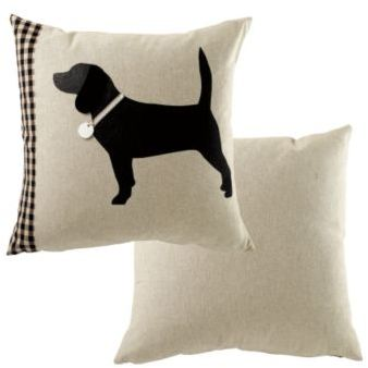 Ballard Designs Holiday Dog Pillow with Insert