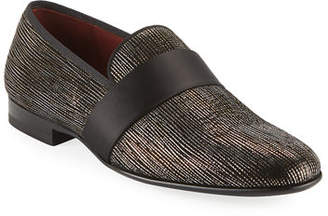Magnanni Men's Velvet Formal Loafers