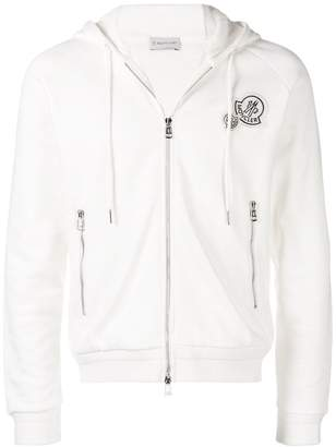 Moncler logo zipped hoodie