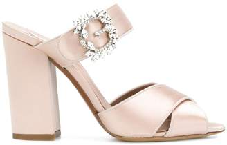 Tabitha Simmons open toe buckled sandals