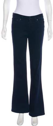 Tory Burch Mid-Rise Flared Jeans