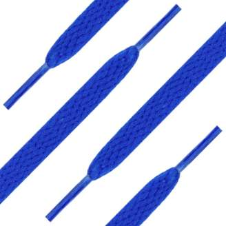 Camilla And Marc Shoe String King 6 Pack of 54 (137 cm) Blue Shoelaces (Flat)