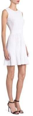 Versace Knit Fit-&-Flare Dress