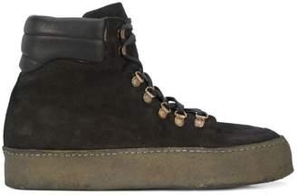 Guidi platform sole boots