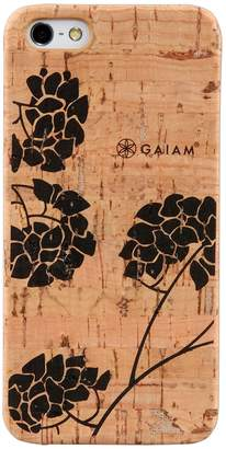 Gaiam iPhone 5 / 5S Hydrangea Cork Hard Shell Cell Phone Case