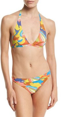 Missoni Mare Painterly Print Two-Piece Bikini Set, Multicolor $425 thestylecure.com