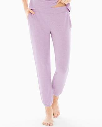 Cool Nights Banded Ankle Pajama Pants Heather Thistle