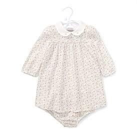 Polo Ralph Lauren Floral Jersey Dress & Bloomer(3-24 Months)