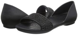 Crocs - Lina Embellished Dorsay Women's Sandals $40 thestylecure.com