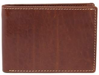 Bosca Vermont Leather Slim Bi-Fold Wallet