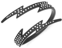 Valentino White Crystal Cuff Bracelet
