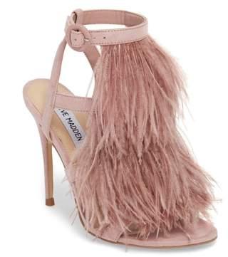 Steve Madden Fefe Feather Sandal